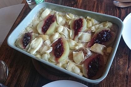 Schweinefilet-Gnocchi-Birnen-Preiselbeer-Brie-Gratin 30