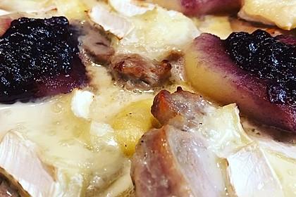 Schweinefilet-Gnocchi-Birnen-Preiselbeer-Brie-Gratin 43