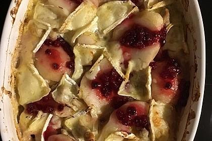 Schweinefilet-Gnocchi-Birnen-Preiselbeer-Brie-Gratin 31