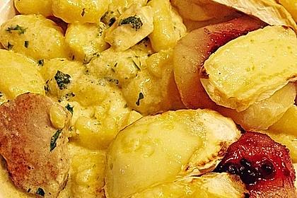 Schweinefilet-Gnocchi-Birnen-Preiselbeer-Brie-Gratin 24