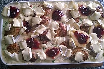 Schweinefilet-Gnocchi-Birnen-Preiselbeer-Brie-Gratin 11