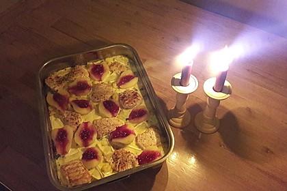 Schweinefilet-Gnocchi-Birnen-Preiselbeer-Brie-Gratin 20