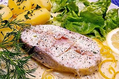 Kochfisch in Senfsoße 1