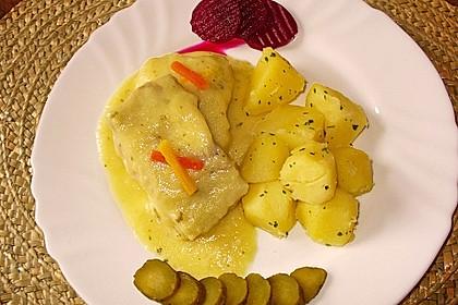 Kochfisch in Senfsoße 3