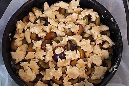 Zwetschgenkuchen mit Streusel 32