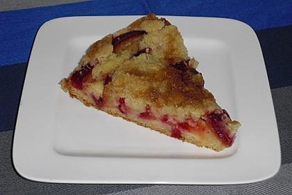 Zwetschgenkuchen mit Streusel 31