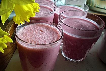 Kirsch-Smoothie oder Kirsch-Joghurt Getränk 4