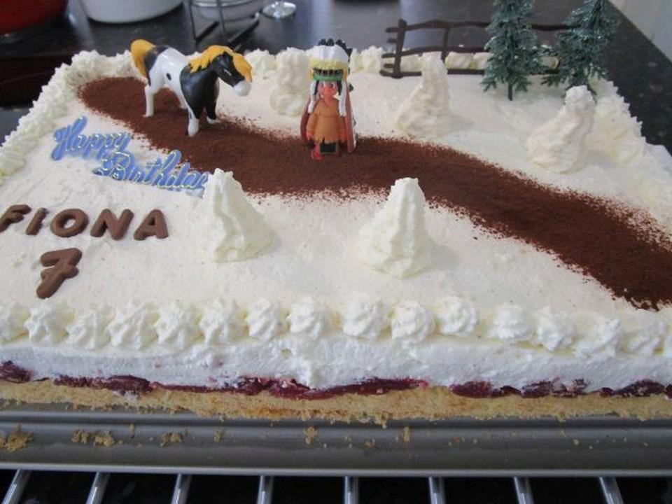 Kirsch Sahne Torte Vom Blech Von Katrin2901 Chefkoch De