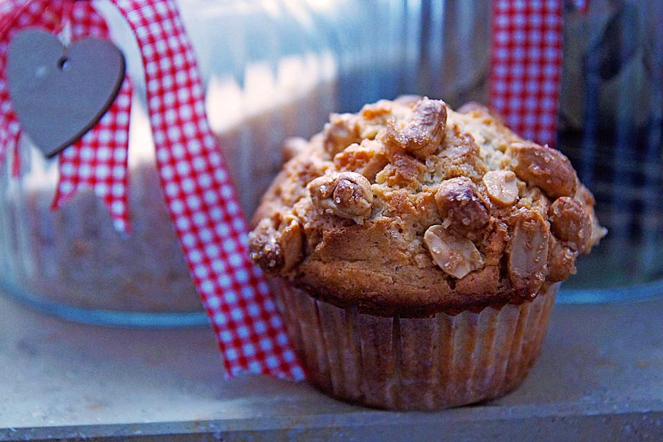 Knusprige Erdnussbutter Muffins Von Krummelmonstaaa Chefkoch De