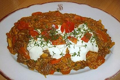 Lammpilaw mit Tomaten 1
