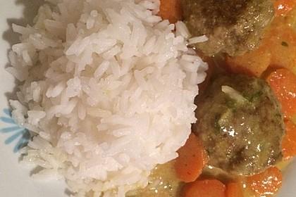 Hackbällchen in Möhren-Currysoße 34