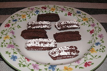 Schokoladiges Kokos-Spritzgebäck