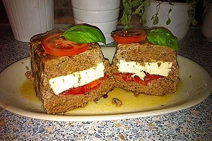 Hackbraten mit Feta und Tomaten 1