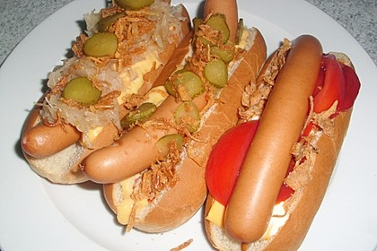 Amerikanische Hot Dog Buns Nr. 2 10
