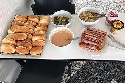 Amerikanische Hot Dog Buns Nr. 2 6