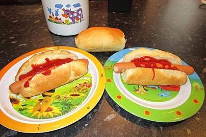 Amerikanische Hot Dog Buns Nr. 2 16