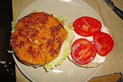 Kürbis-Burger 1