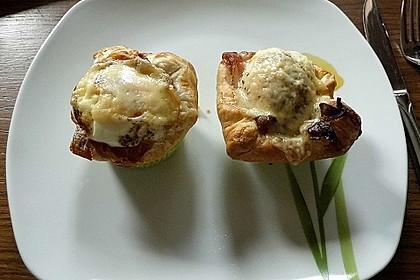 Gebackene Toast-Muffins mit Ei und Speck 54