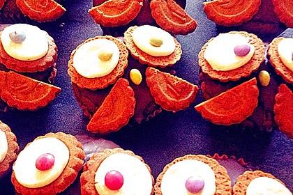 Eulen Cupcakes (Bild)