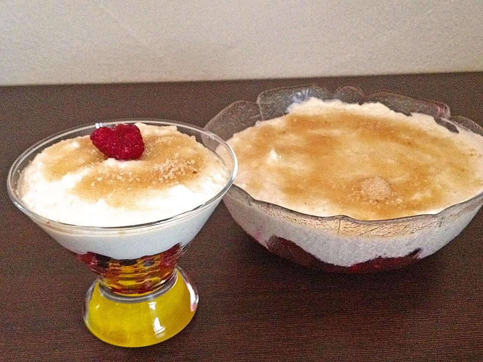 Himbeer Mascarpone Dessert Von Vanita83 Chefkoch