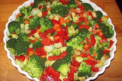 Überbackener Gemüsekuchen 2