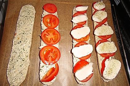 Sarahs ultimatives Tomaten-Mozzarella Baguette 3