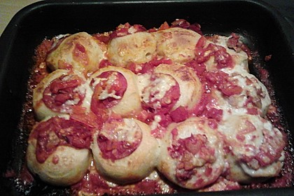 Bubble Up Pizza-Auflauf 2