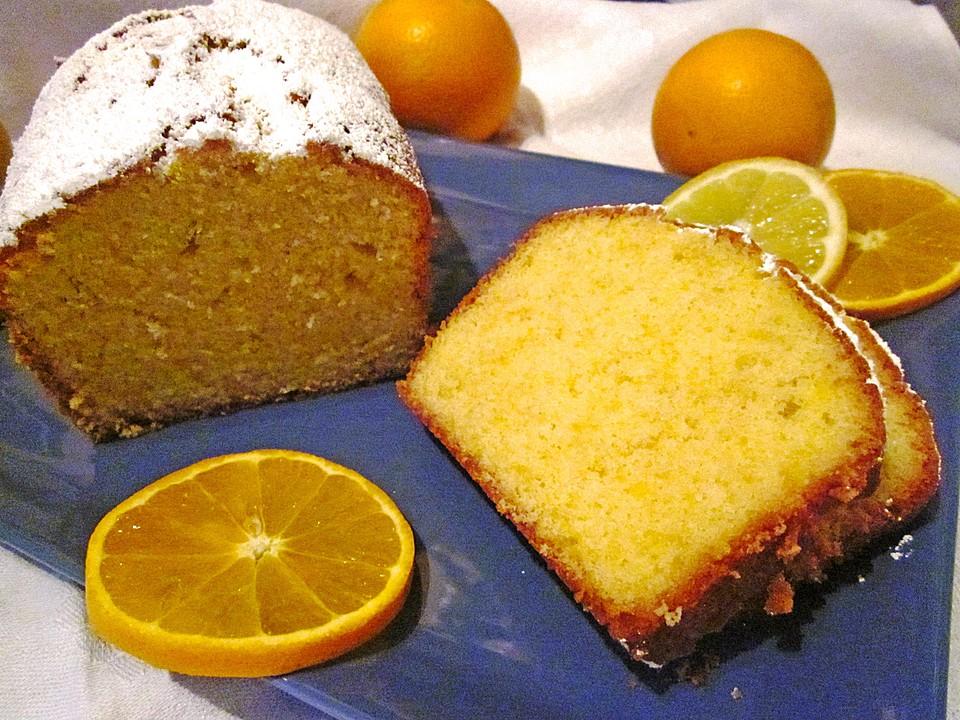 Zitronen Orangen Kuchen Von Kleinehobbits Chefkoch De