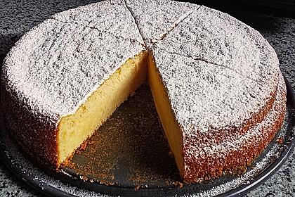 Italienischer Zitronenkuchen 2