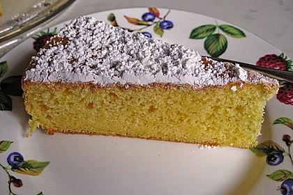 Italienischer Zitronenkuchen 1