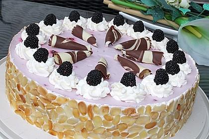 Brombeer-Wein-Torte 2