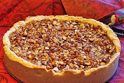 Apfelkuchen mit Mandel-Karamell-Kruste 2
