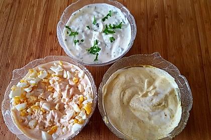 Dreierlei Saucen für Fondue oder Raclette