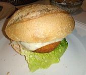 Fischfrikadellen-Burger (Bild)