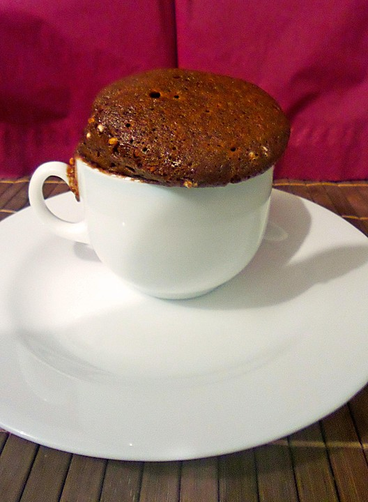 Hot Brownie Kuchen Aus Der Tasse Von Anke2626 Chefkoch De