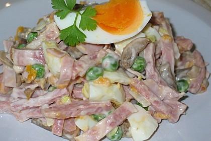 Delikater Fleischsalat à la Gabi (Bild)