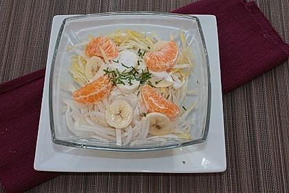 Mandarinen-Chicorée-Salat a la Gabi
