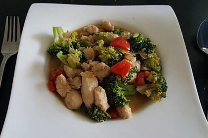 Fisch-Gemüse-Pfanne mit Kokosmilch, Low carb 11