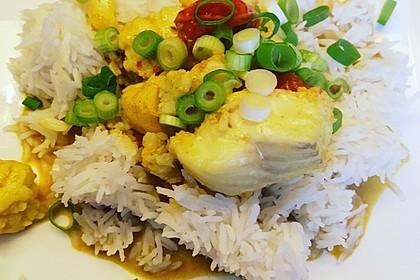 Fisch-Gemüse-Pfanne mit Kokosmilch, Low carb 67