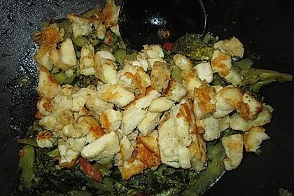 Fisch-Gemüse-Pfanne mit Kokosmilch, Low carb 69