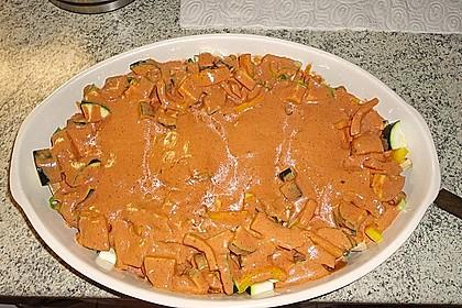 Überbackene Hähnchenfilets mit mediterranem Gemüse 35