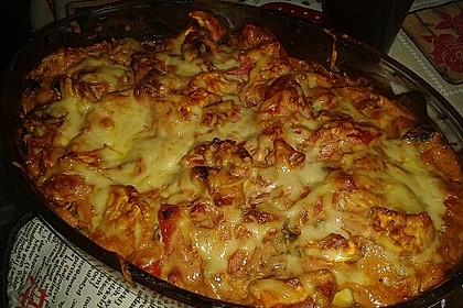 Überbackene Hähnchenfilets mit mediterranem Gemüse 20