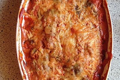 Überbackene Hähnchenfilets mit mediterranem Gemüse 22