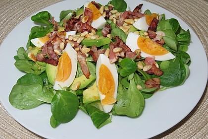 Aphrodite-Salat mit Bacon (Bild)
