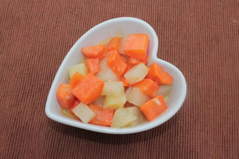 Karotten Kohlrabi Gemüse Mit Sämiger Soße Von Naturecook83 Chefkoch