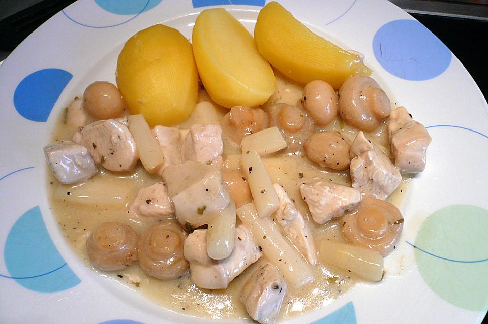 Leichtes Hühnerfrikassee von binchen59 | Chefkoch