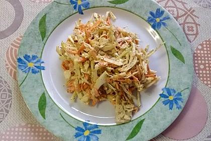 Weißkohlsalat russische Art