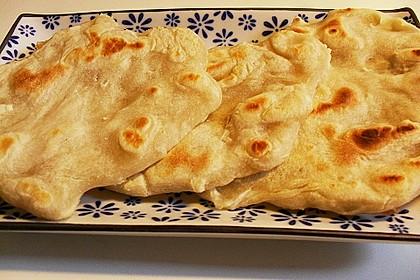 Pfannenbrot - Roti 1
