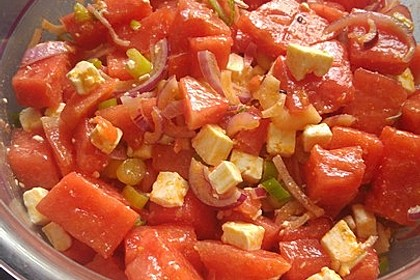 Wassermelonen-Feta Salat 24