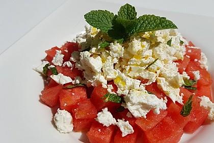 Wassermelonen-Feta Salat 6